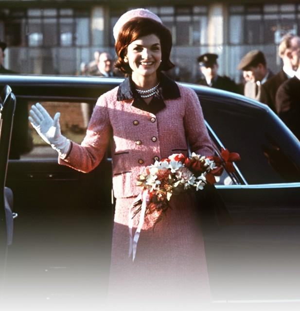 Jackie Kennedy Dallas Pink Sui