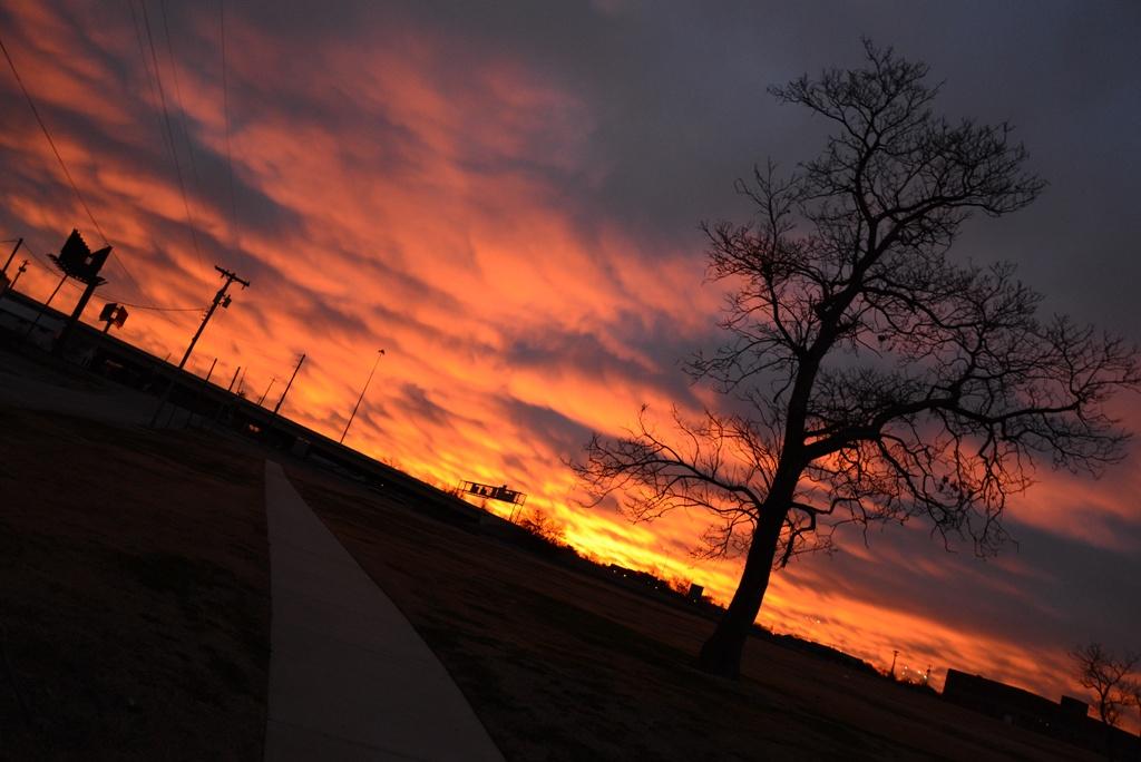 Oklahoma Autumn Sunrise