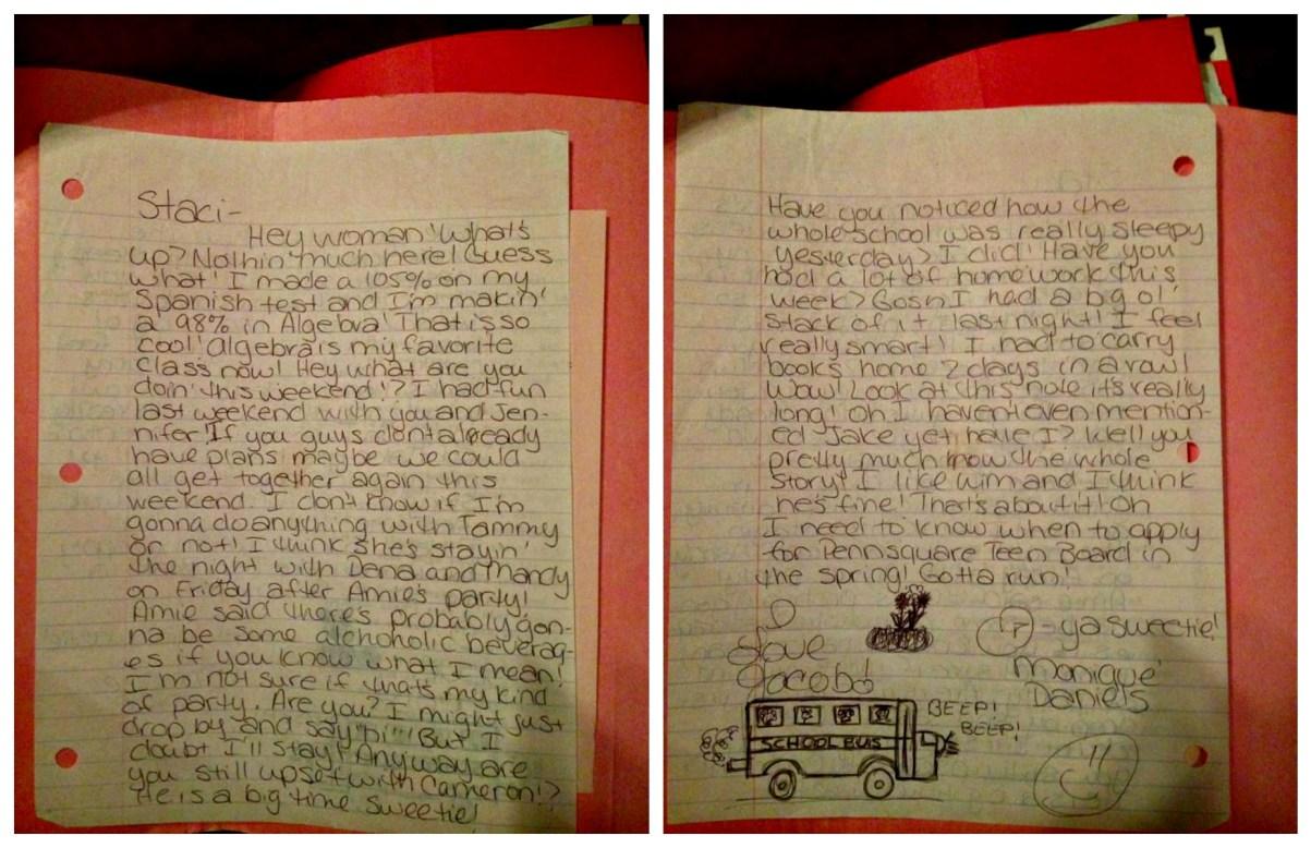 Moniques Letters