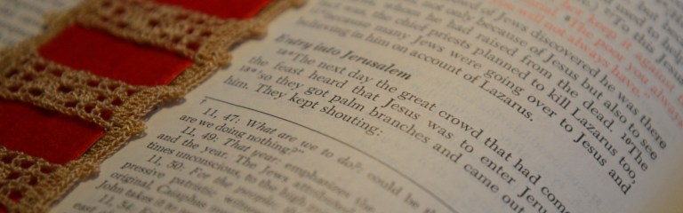 Bible Open Bookmark 2