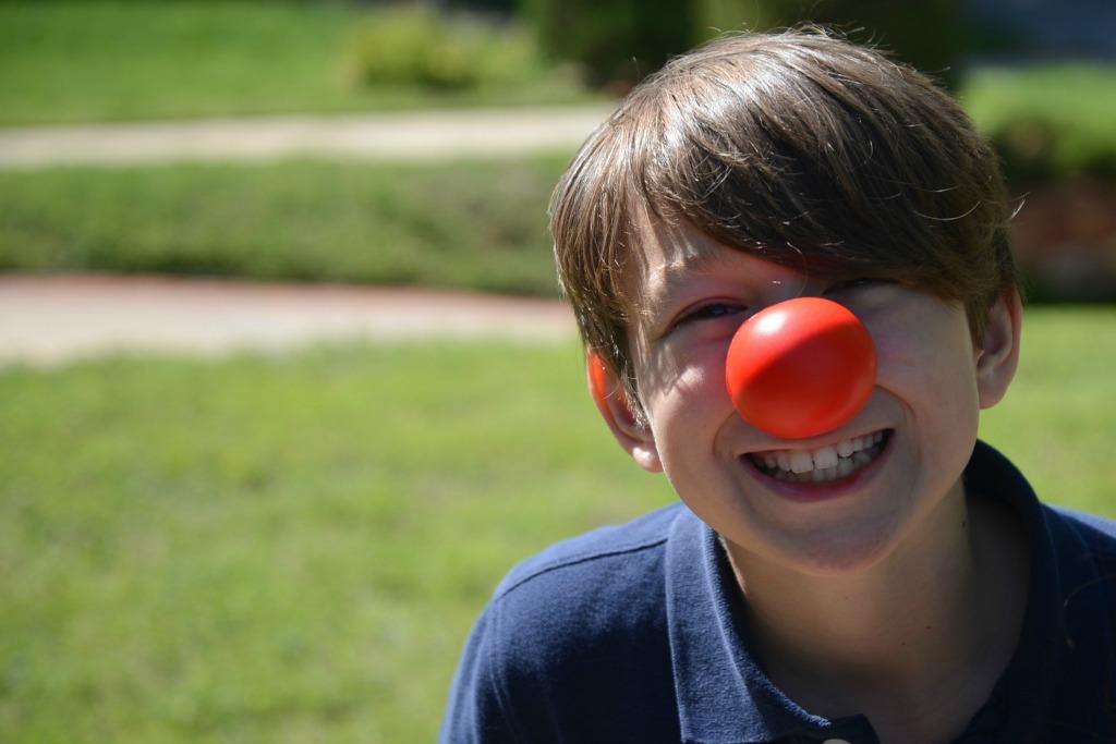 Boy Red Nose