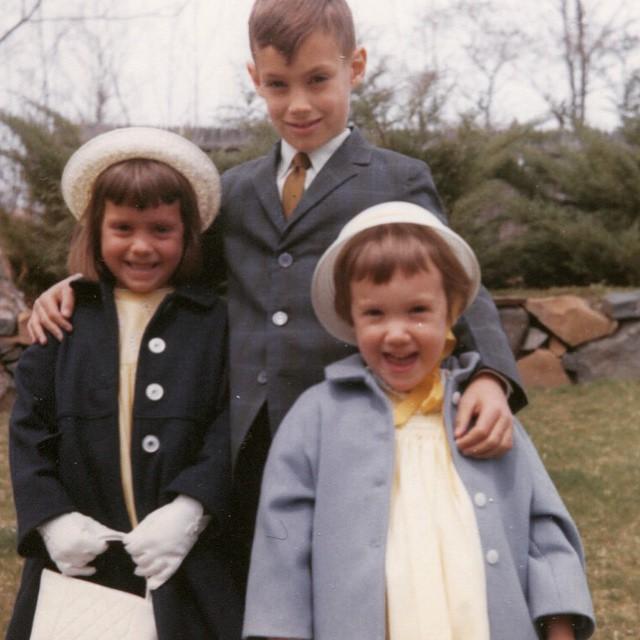 Easter 1965 Hat Gloves