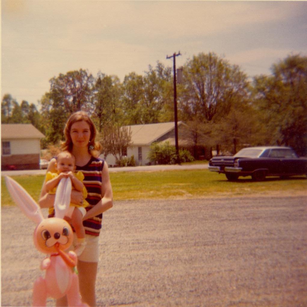 1973 Inflatable Bunny