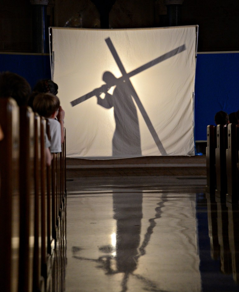 Shadow Station of the Cross