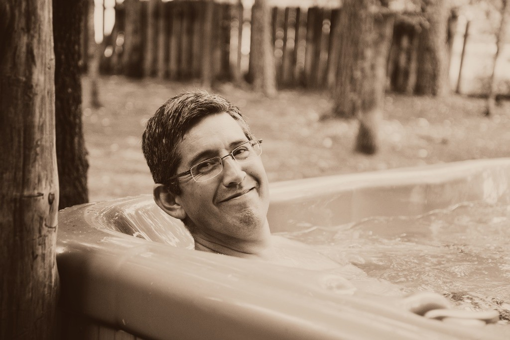 Hot Tub in the woods2