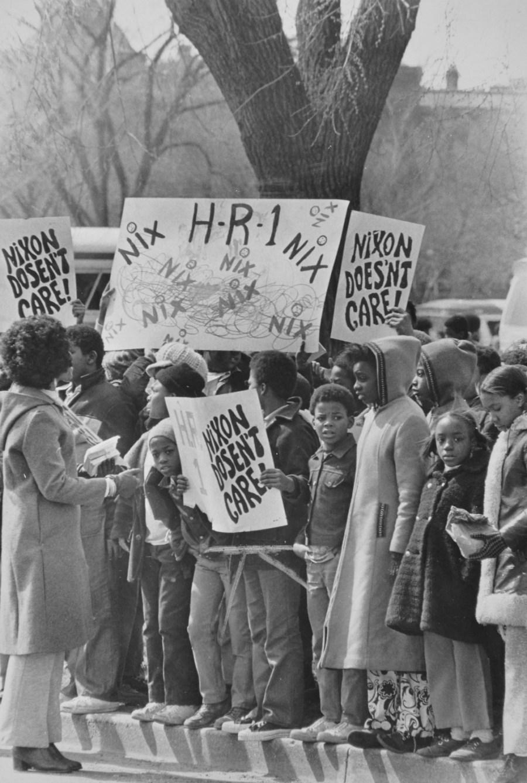 Nix H R I 1972 Protest