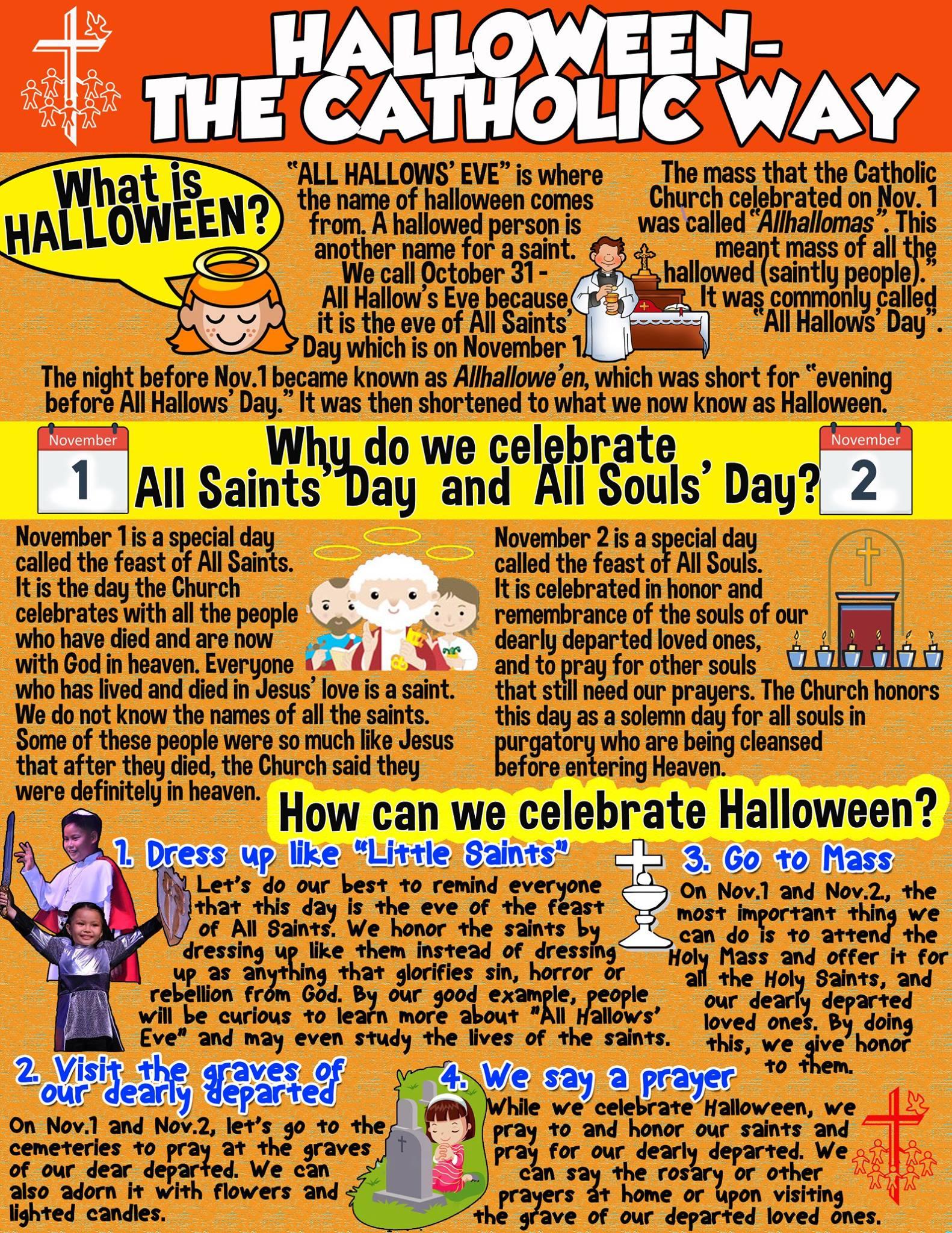 Halloween The Catholic Way Just Jennifer