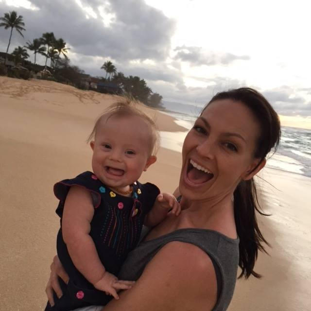 joey feek with baby