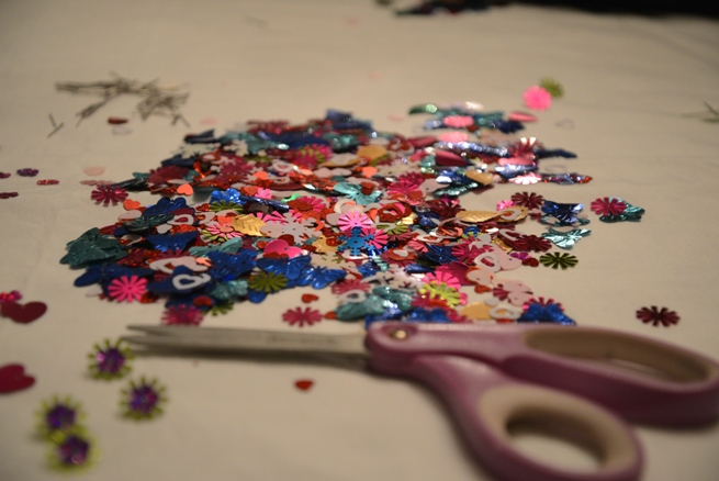 sequins for ornaments