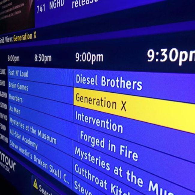 Nat Geo Generation X series