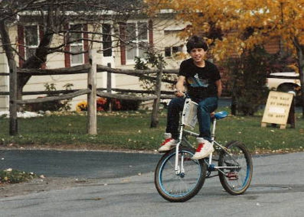 dave mirra as a boy