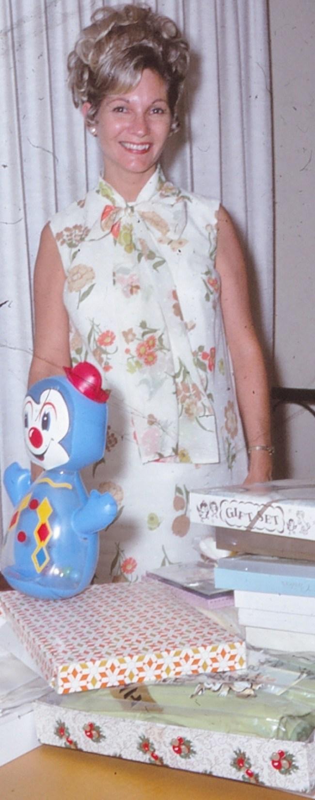 Silent Gen Mom at her 1970 Baby Shower