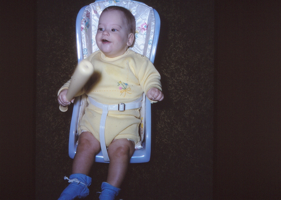 1970s Baby Car Seat