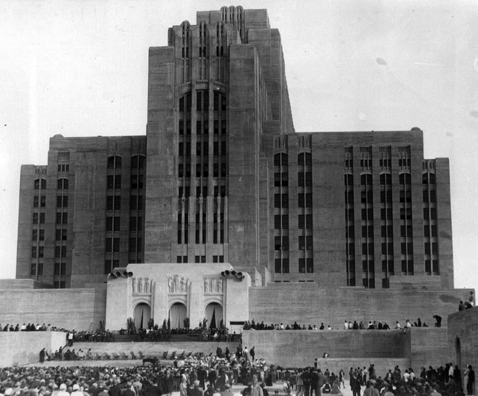 The Dedication of L.A. County General, 1932