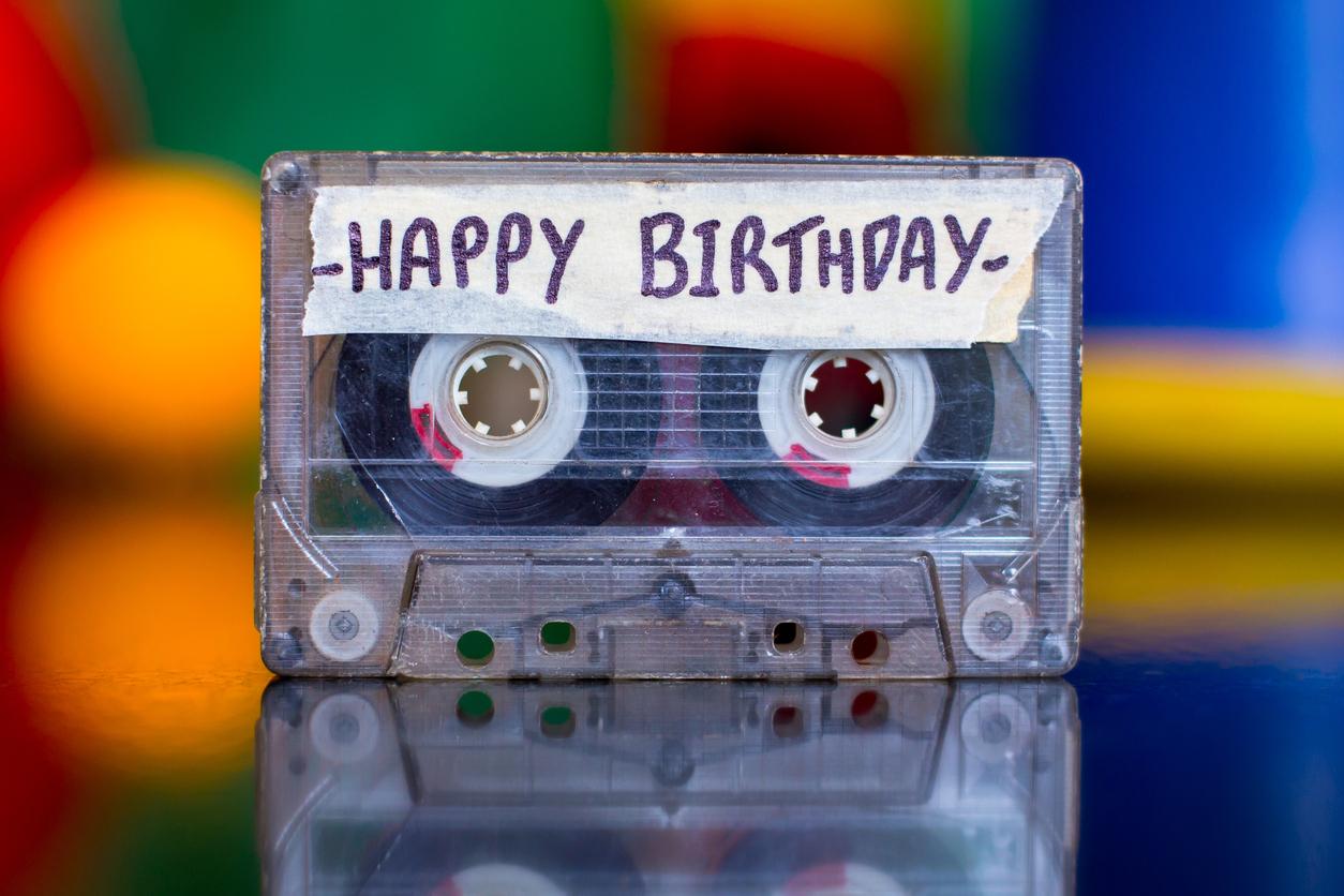 Happy Birthday Retro