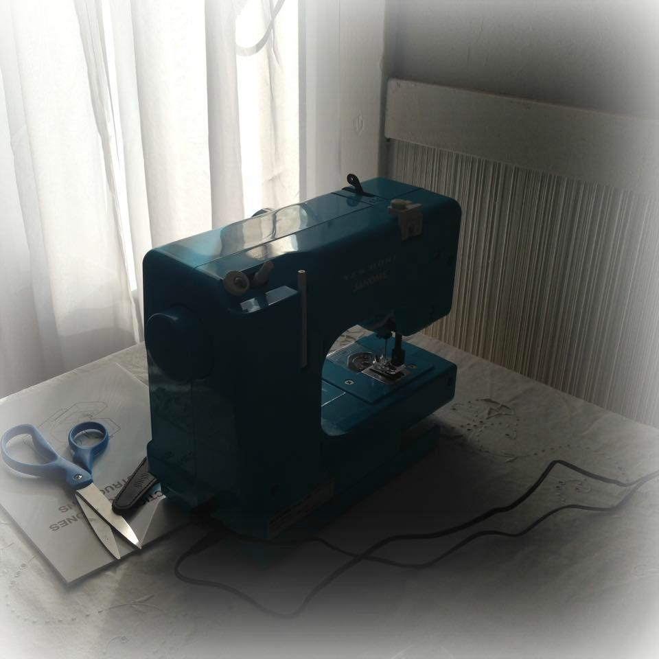 Girls Janome Sewing Machine Blue