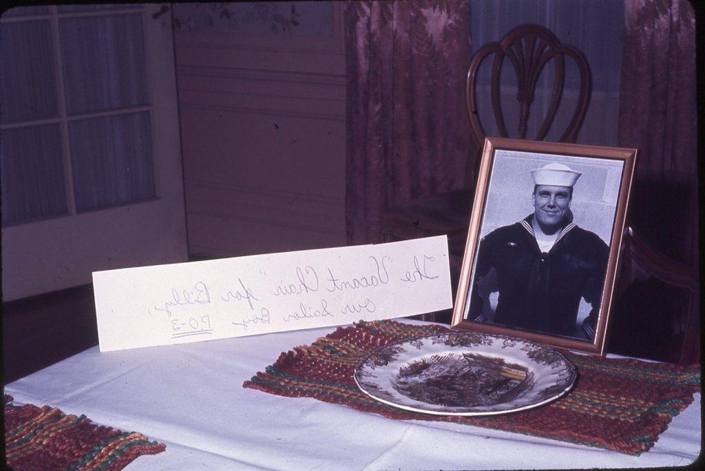 Billy Sailor Boy Thanksgiving 1967