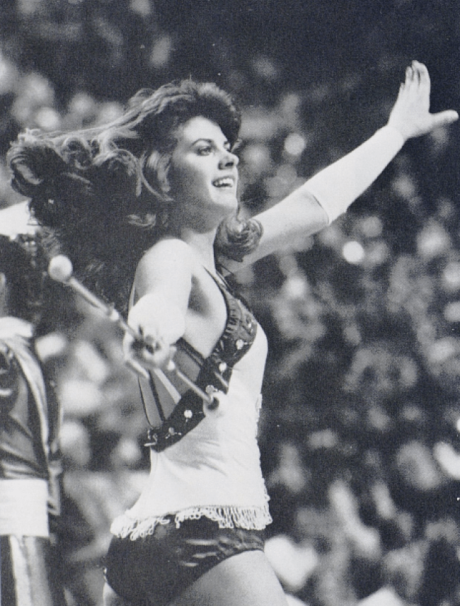 University of Kentucky Majorette 1986