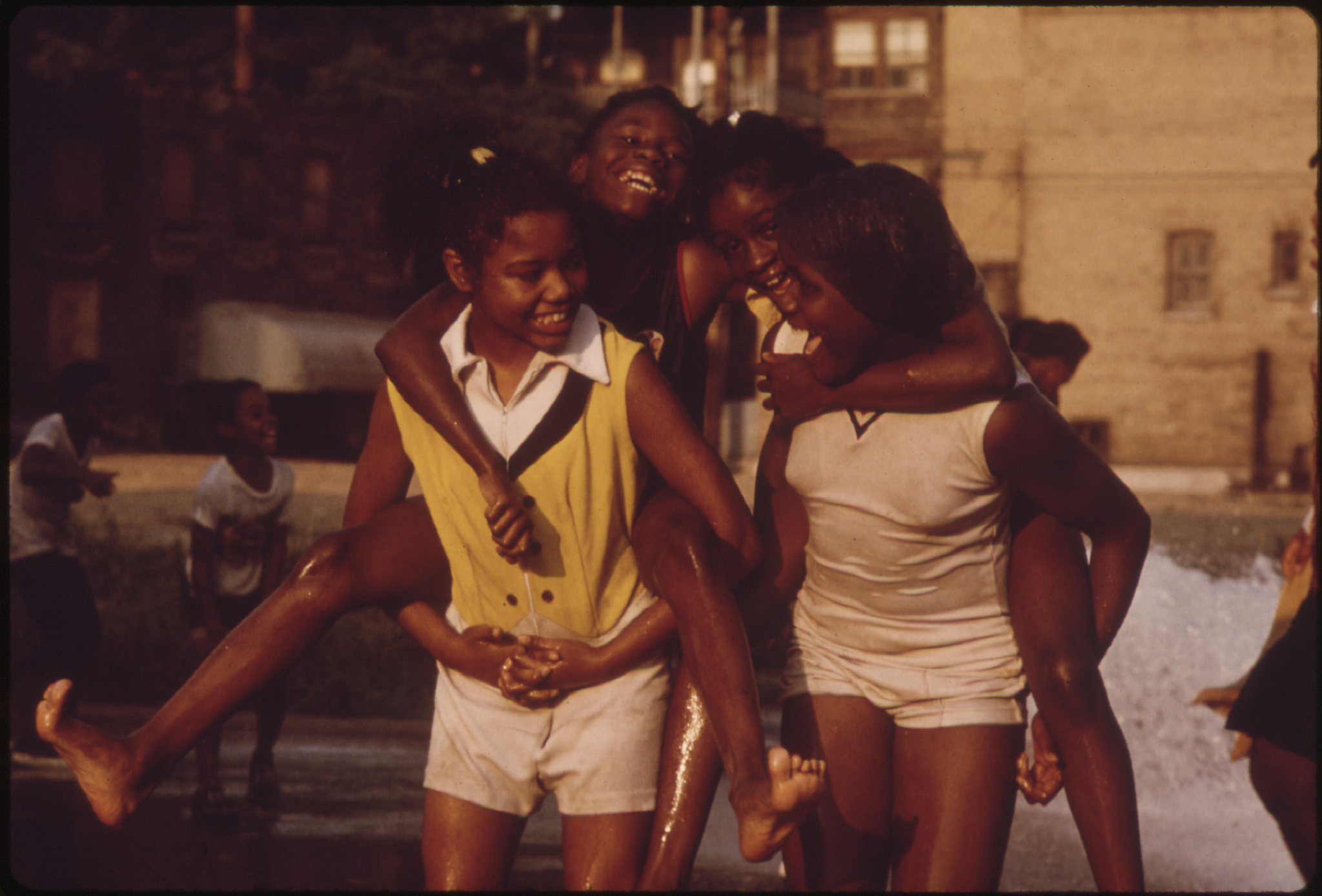 Woodlawn Community on Chicago's South Side in 1973