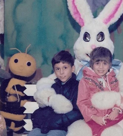 Creepy Alien Eyes Easter Bunny, 1978