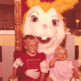 Gigantic Yellow Fur Easter Bunny, 1974 |