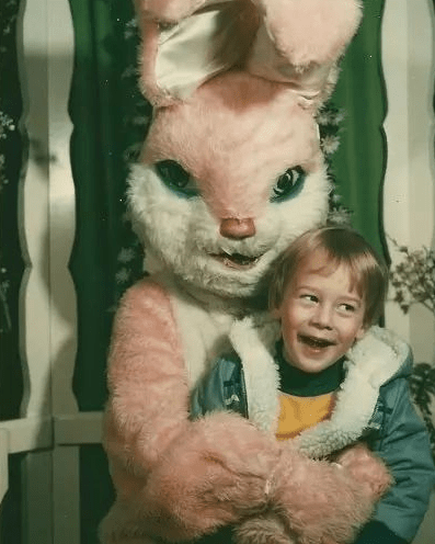 Grab-You-Tight Easter Bunny, 1976 | Shared via Facebook by Patrick M.