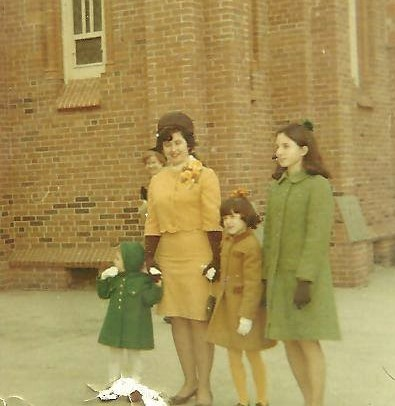 A Catholic Mother on Easter Sunday, 1968.