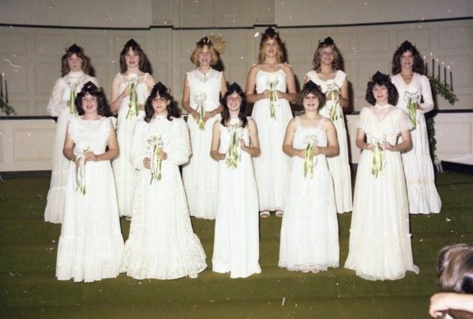 Girls Auxiliary Southern Baptist Church 1980s