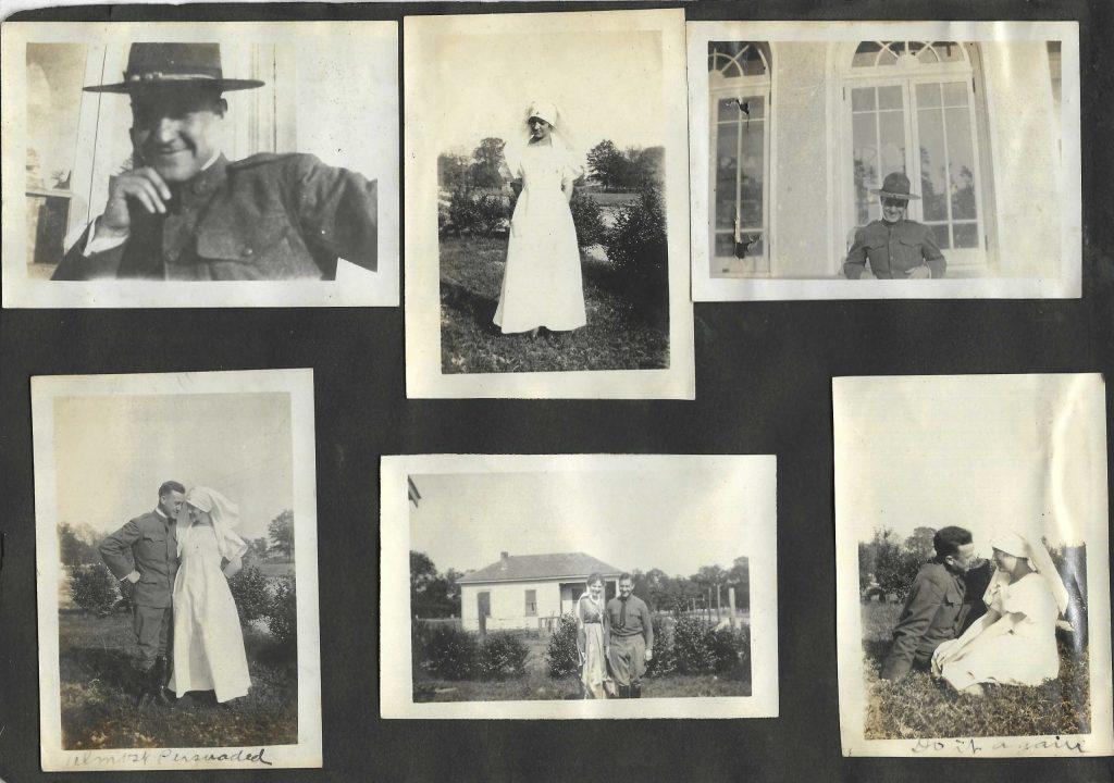 World War 1 Red Cross Volunteers in Habits