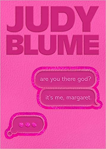 Are You There God? It's Me, Margaret Special 50th Anniversary Edition with Pink Cover Embossed Faux Leather