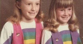 1980s Rainbow Sweaters