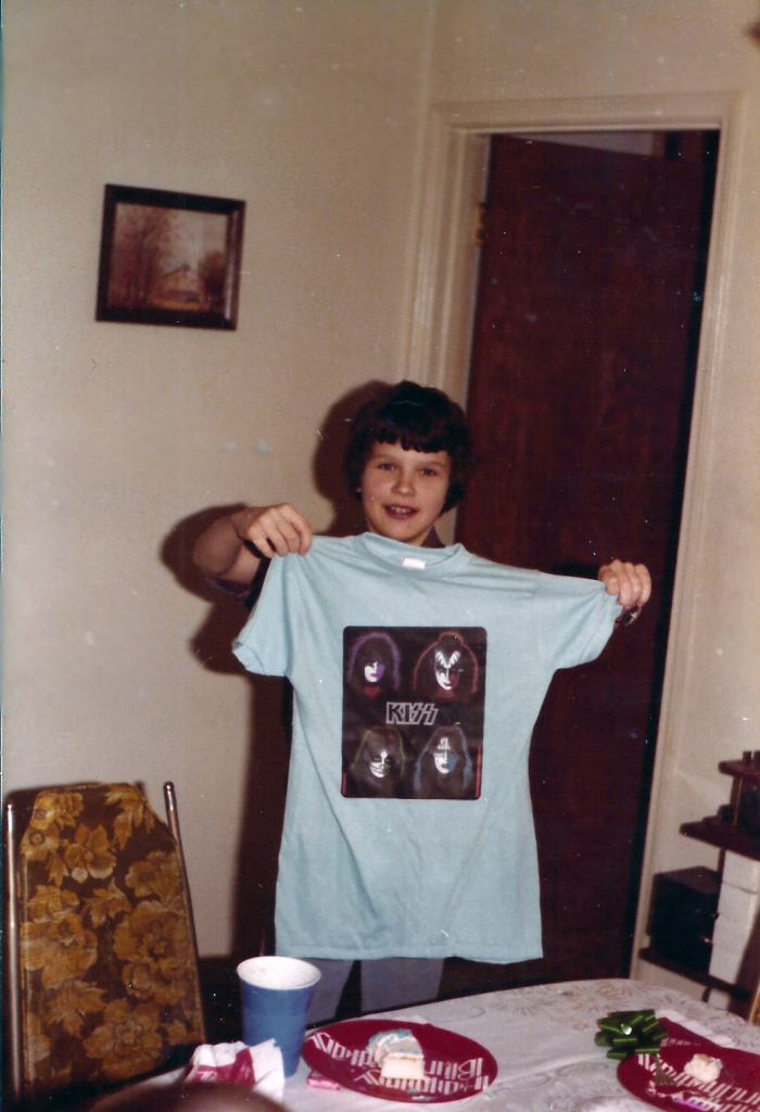 1970s KISS Band Shirt