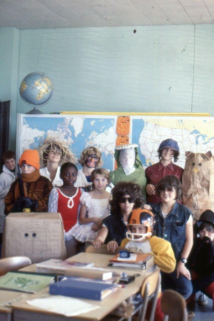 1970s School Halloween Party Pictures