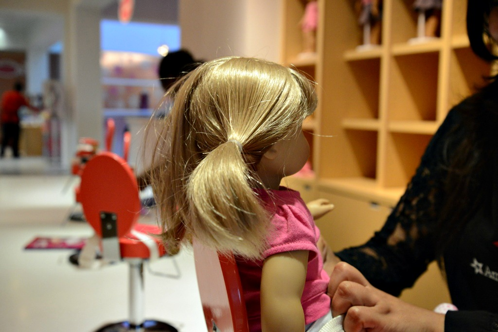 American Girl Beauty Shop, Dallas
