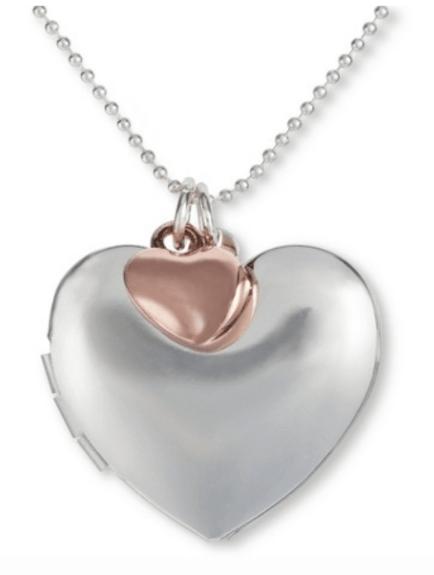 Annie Locket Silver Bronze
