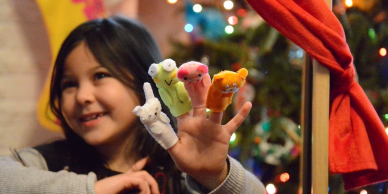 Finger Puppets Smiles