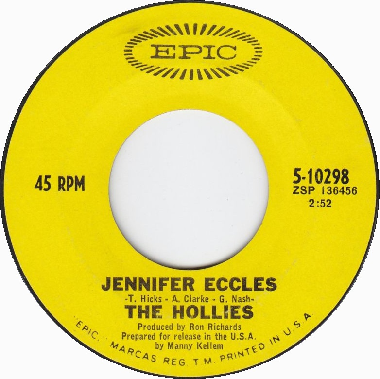 Jennifer Eccles, The Hollies