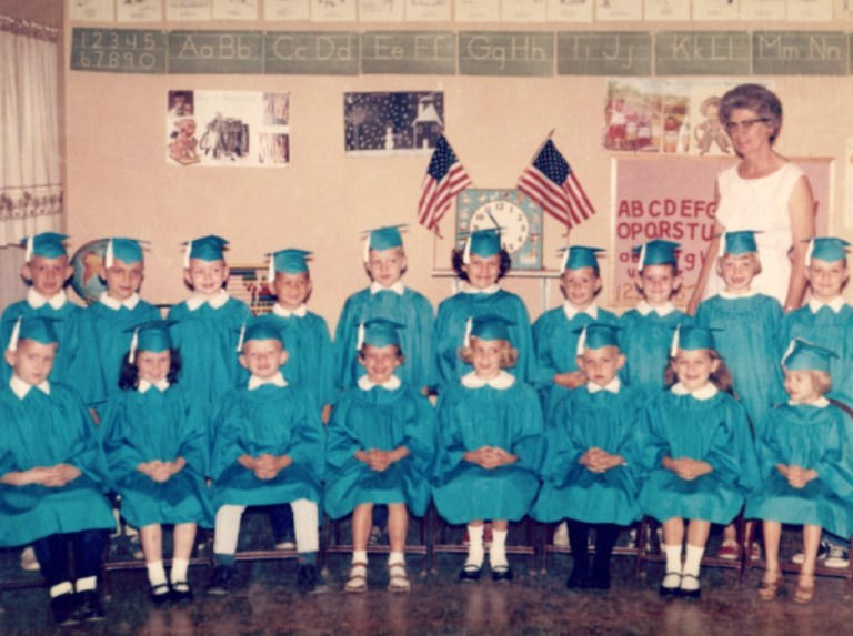 Kindergarten Class 1966