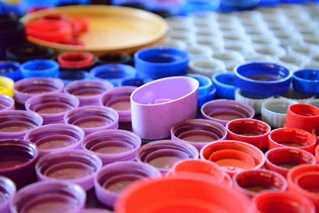 Lavender Bottle Caps