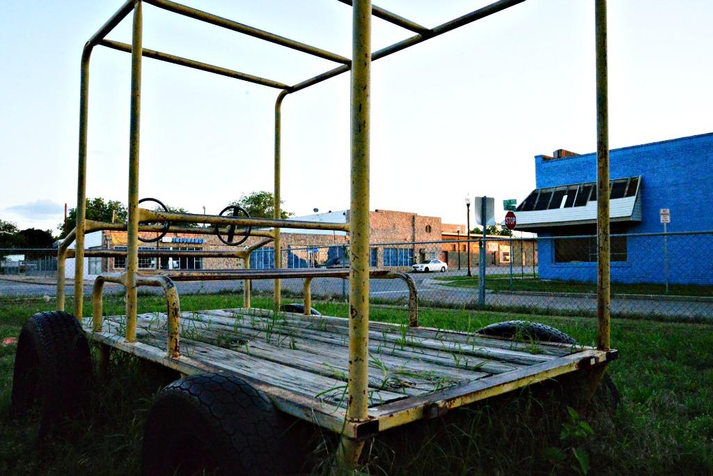 Old Truck, Vintage Playground Equipment