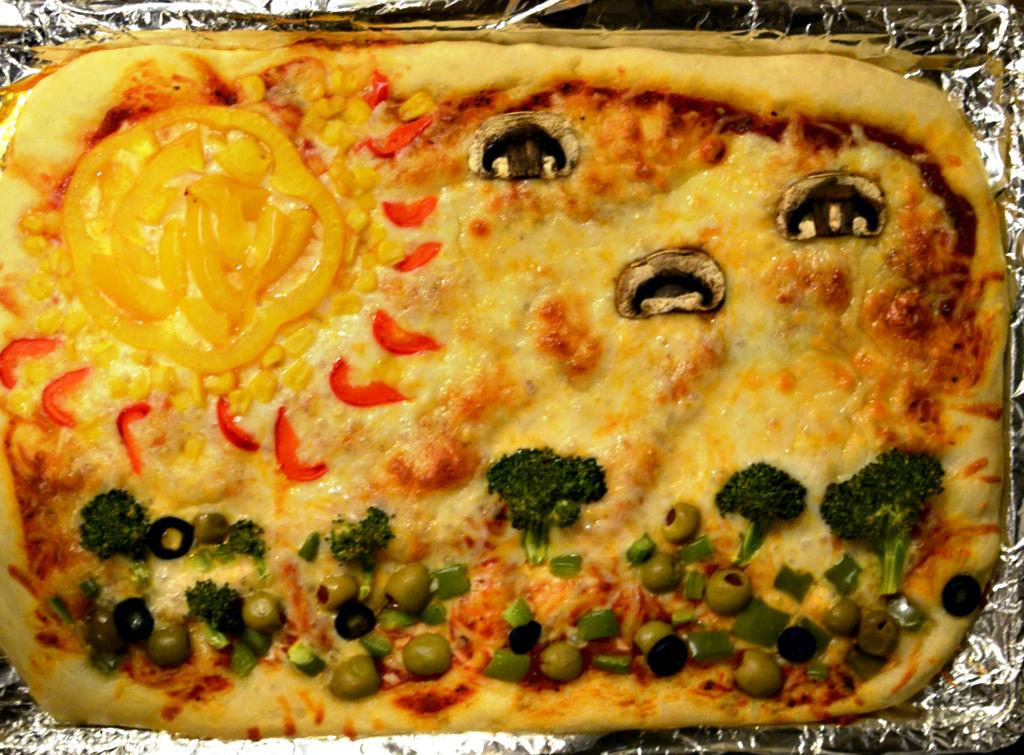 Picture Pizza Landscape
