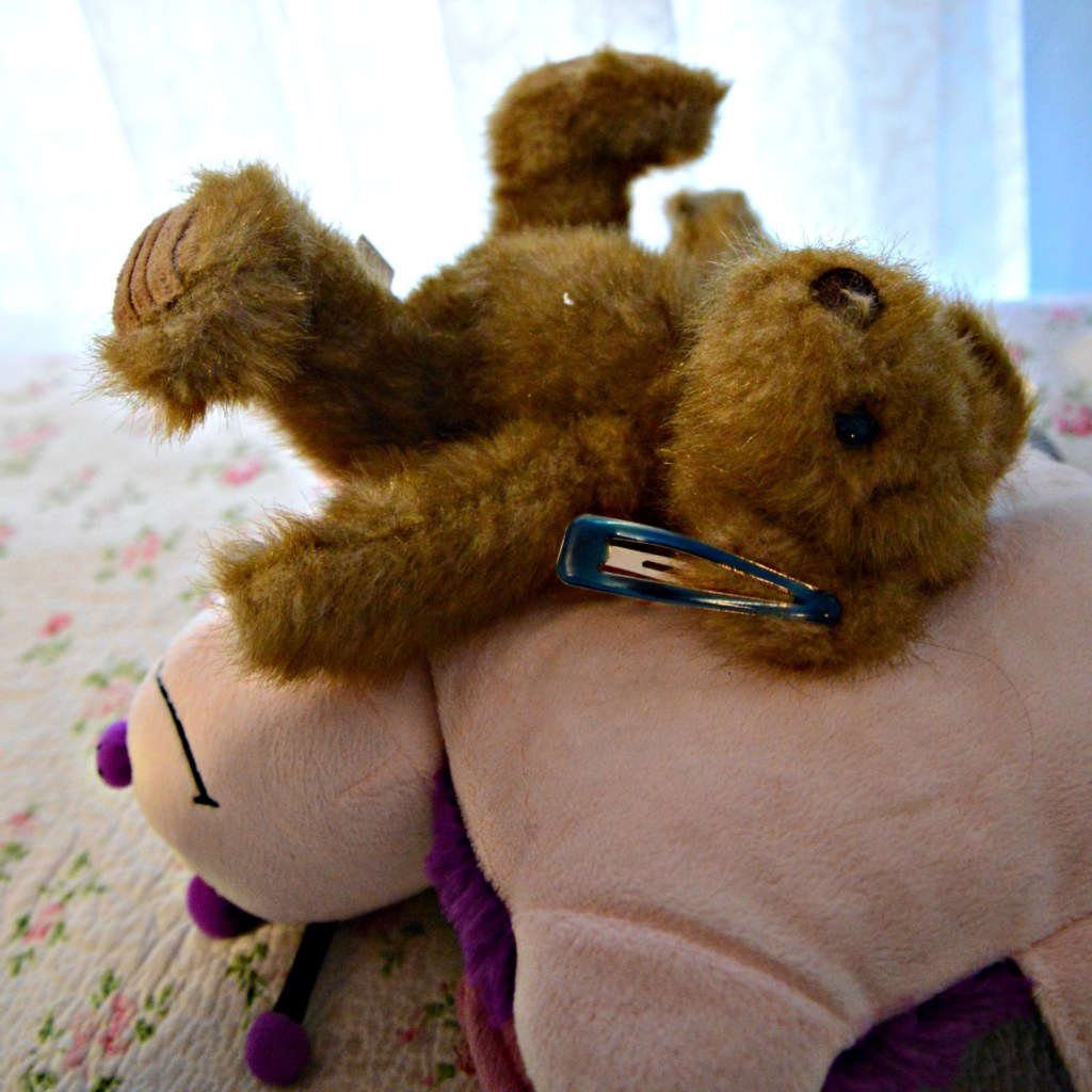 Stuffed animal ear problem