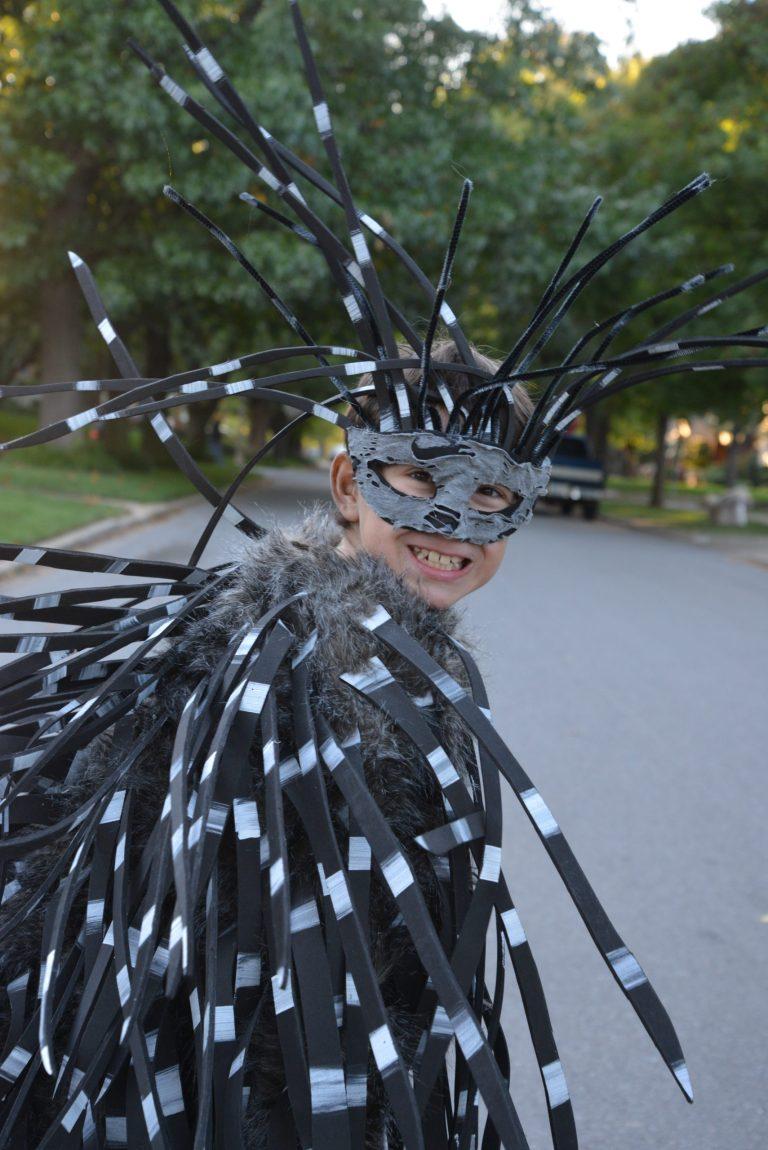 How To make a Porcupine Costume