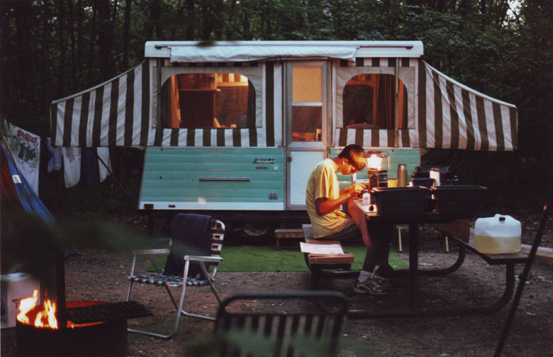 Pop Up Camping Trailer