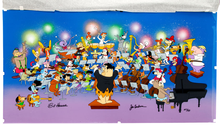 Symphony of Stars | Fred Flinstone, The Jetsons and 49 Saturday morning cartoon stars