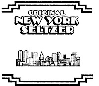 New York Seltzer water logo