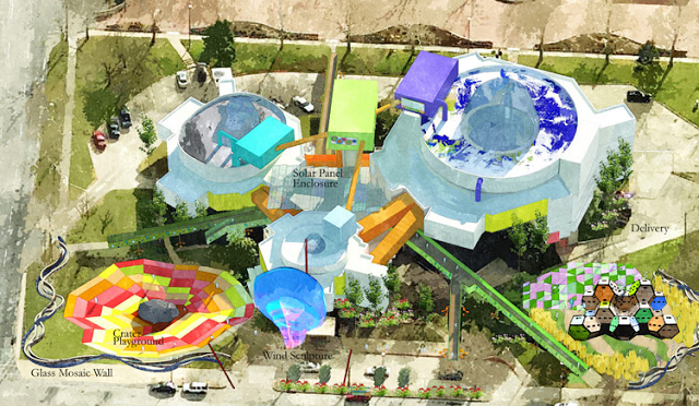 Architectural Rendering of OKC Childrens Museum