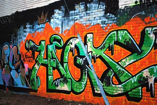 St. Patrick's Day Graffiti Oklahoma City