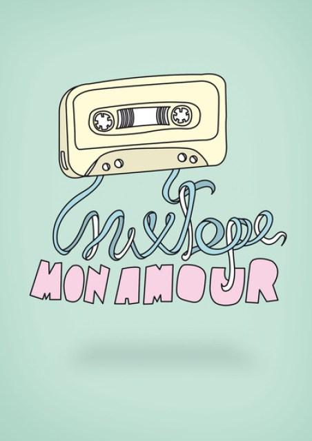 Mixtape Design Amour