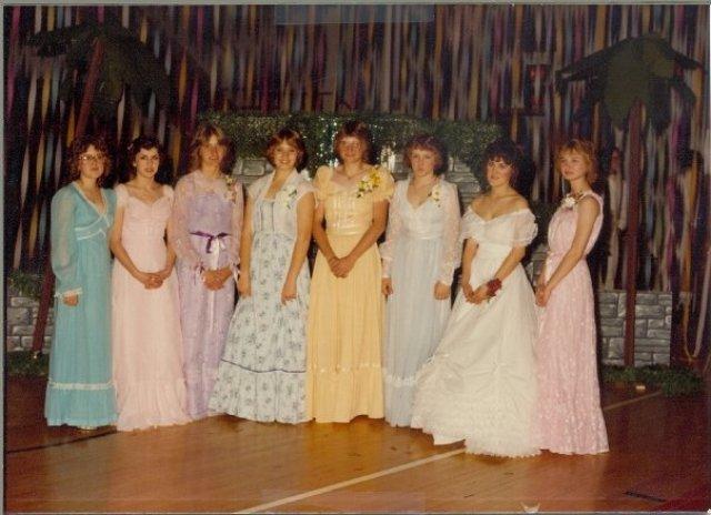 1980s Prom Queen